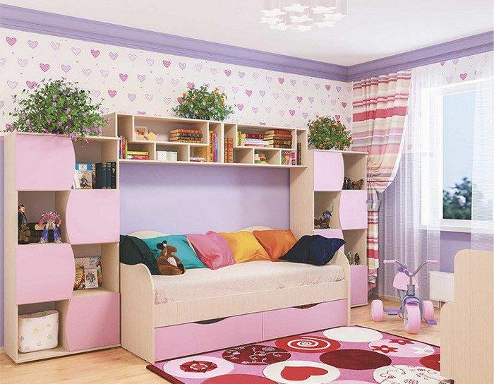 Модульная детская мебель Лилия