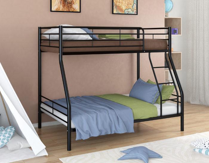 Детская кровать на металлокаркасе двухъярусная Гранада-2