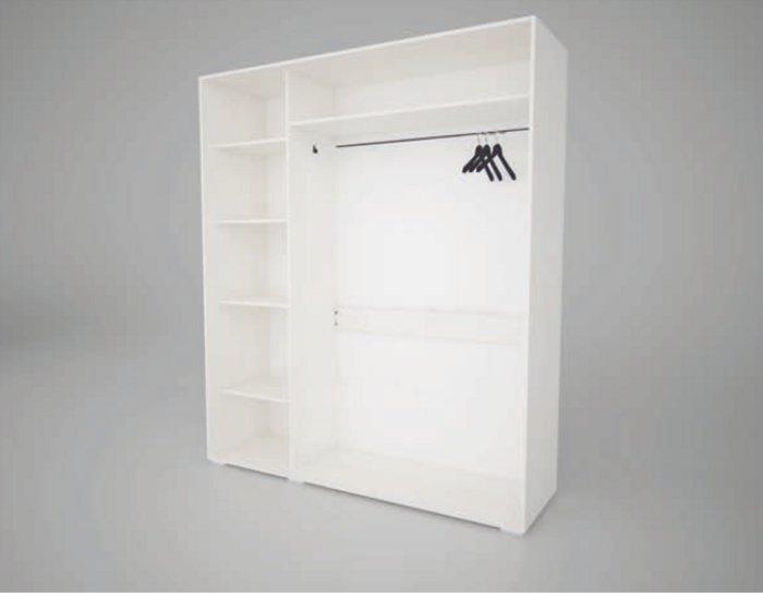 Шкаф купе Арктур стекло с печатью Жумбак 1,17м