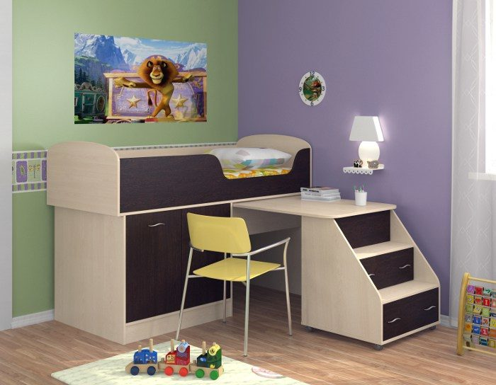 Детская кровать Дюймовочка-2