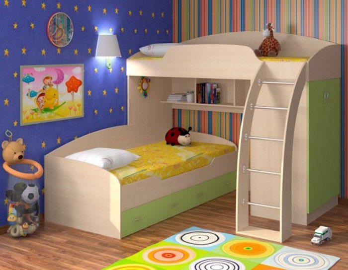 Детская кровать чердак Соня-1 без нижней кровати