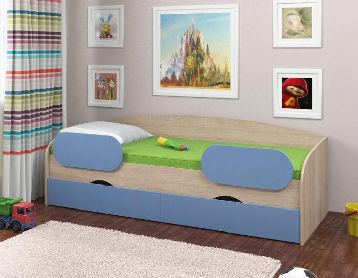 Детская кровать Соня-2 нижняя