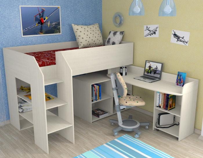 Детская кровать Теремок-2