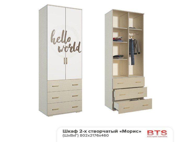 Детский шкаф Морис ШК-7