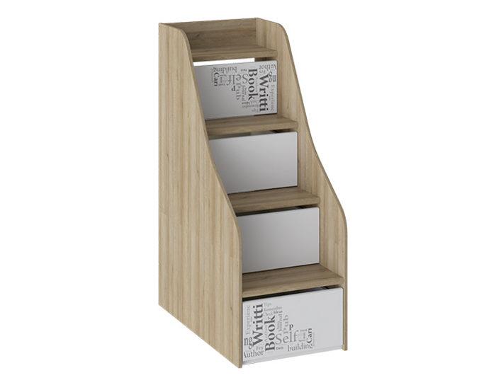 Детская кровать двухъярусная Оксфорд ТД-139.11.12 лестница приставная