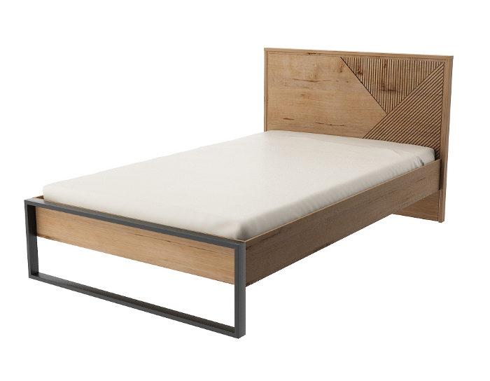 Детская кровать Оскар 1200 с настилом ИД 01.548