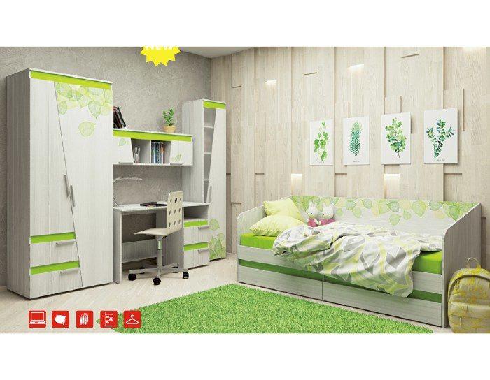 Модульная детская мебель Эко (Аквилон)