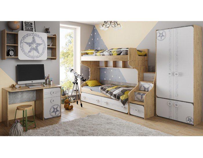 Модульная мебель для детской Мегаполис