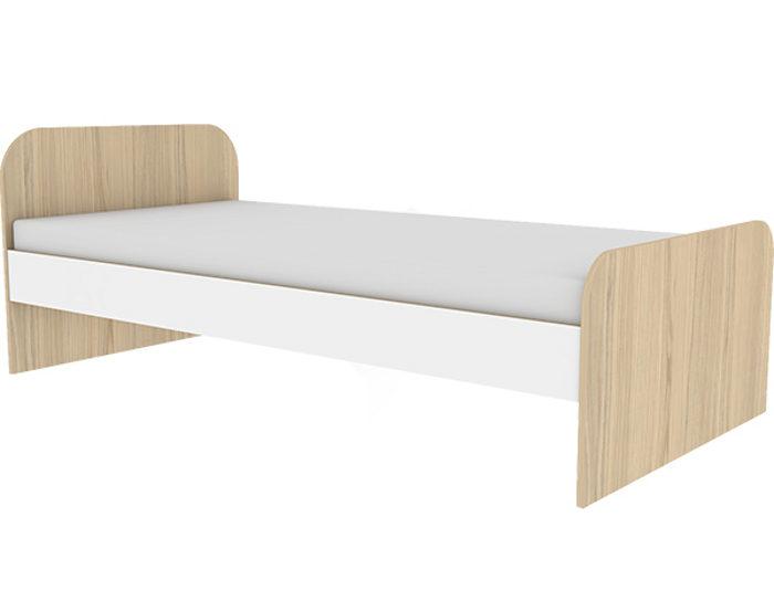 Детская кровать Кот 900.3 с основанием ЛДСП