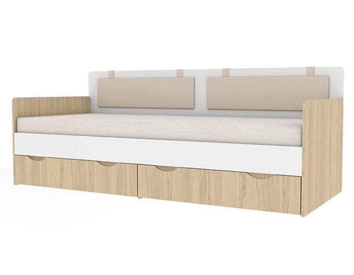 Детская кровать-тахта Кот 900.4 с основанием ЛДСП