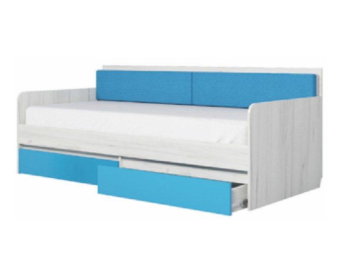 Детская кровать-тахта Бриз 900.4 с основанием ЛДСП