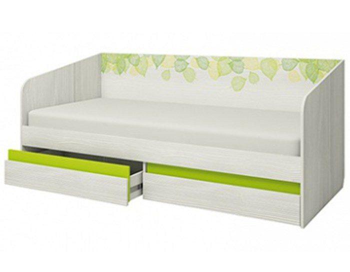 Детская кровать-тахта Эко 900.4 с основанием ЛДСП