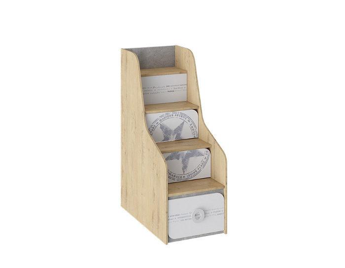 Детская кровать двухъярусная Мегаполис ТД-315.11.12 Лестница приставная