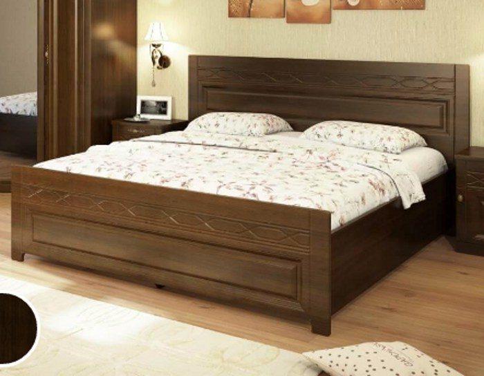Кровать Лолита бук тироль