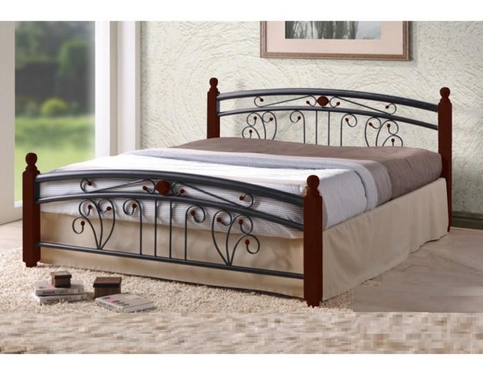 Кровать кованая Lilium 2S DB