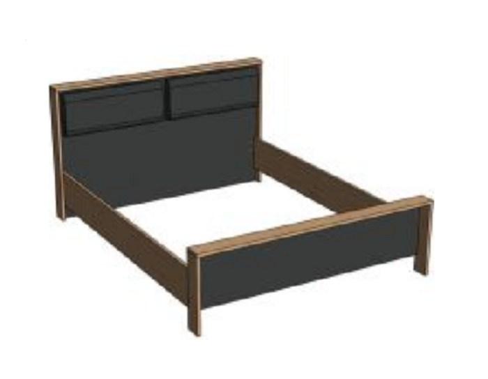 Кровать Бруклин ВК1600