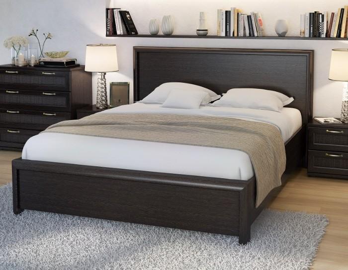 Кровать Рандеву РК1600 вариант 1 венге