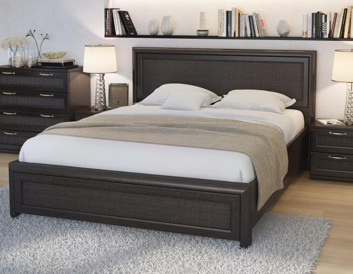 Кровать Рандеву РК1601 вариант 2 венге