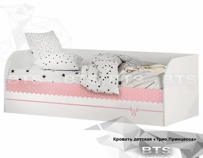 Детская кровать КРП-01 Принцесса с подъёмным механизмом