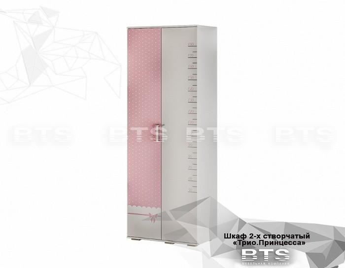 Шкаф двухдверный ШК-09 Принцесса
