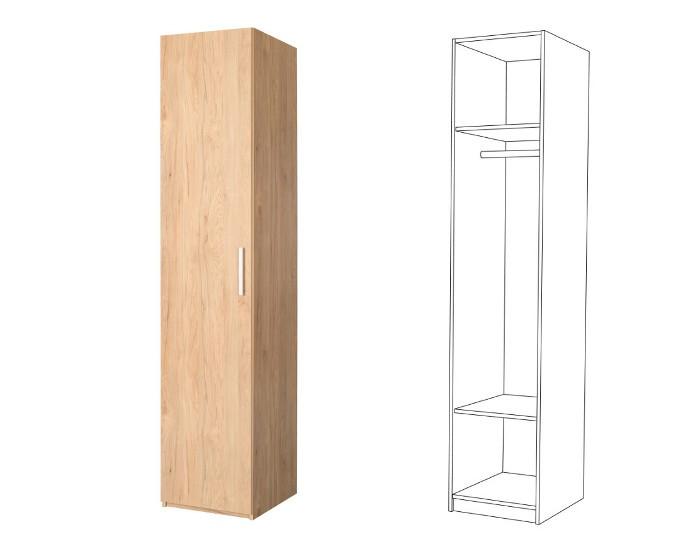Шкаф для одежды Гравити 10.76