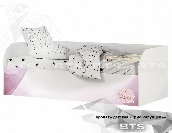 Детская кровать КРП-01 Рапунцель с подъёмным механизмом