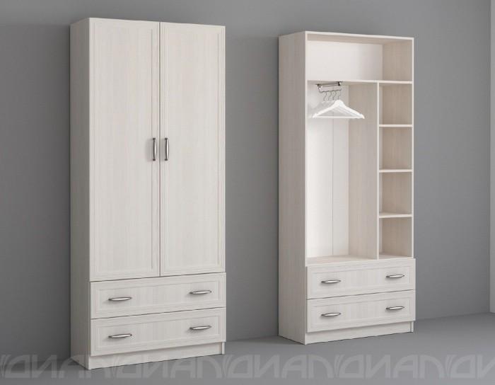 Шкаф двухдверный Колибри