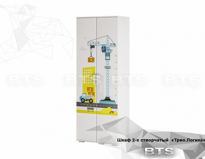 Шкаф двухдверный ШК-09 Логика