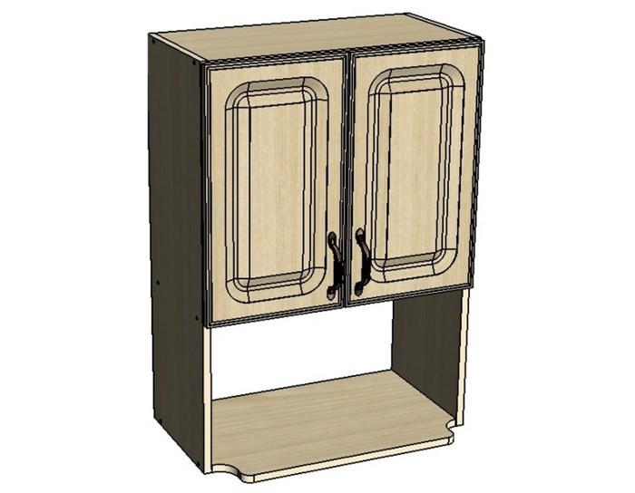 Кухонный шкаф Моника/Милана B60V с патиной под микроволновку