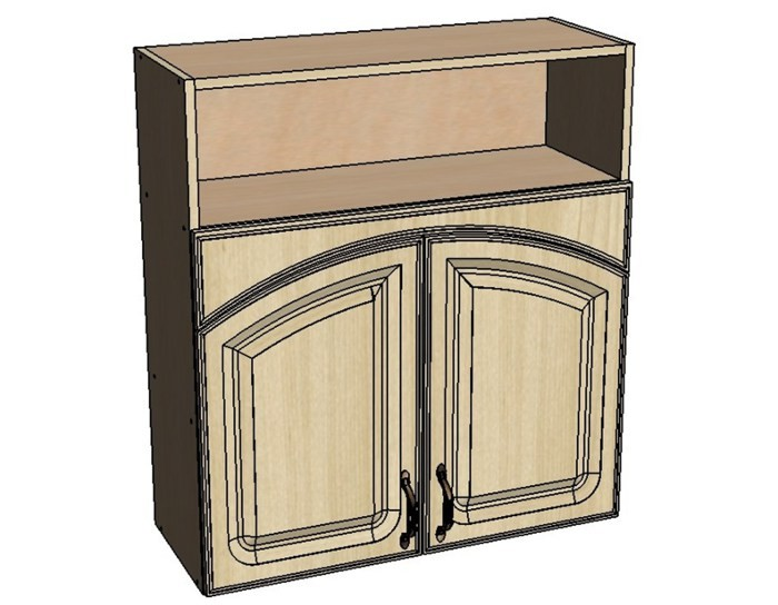 Кухонный шкаф Моника/Милана BN60 с патиной