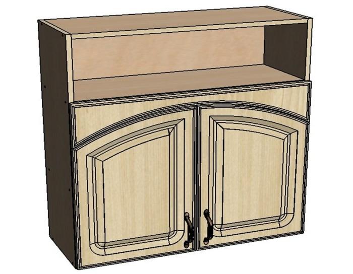 Кухонный шкаф Моника/Милана BN80 с патиной