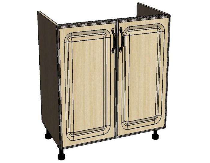 Кухонный шкаф Моника/Милана DM60 под мойку с патиной