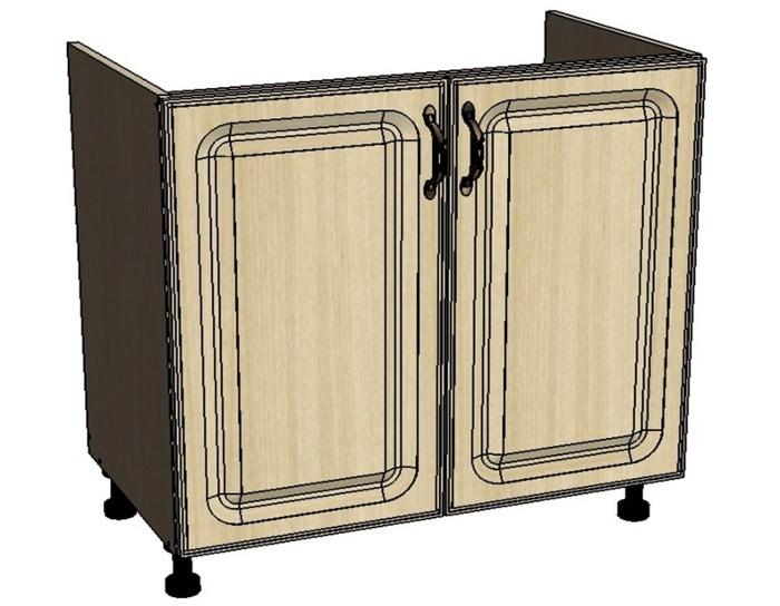 Кухонный шкаф Моника/Милана DM80 под мойку с патиной