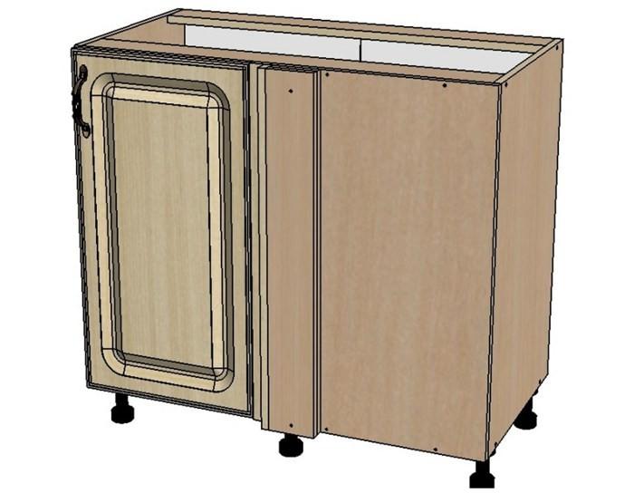 Кухонный шкаф Моника/Милана DU100 угловой с патиной