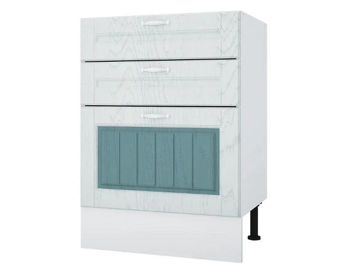 Кухонный шкаф 60 Камелия с 3 ящиками без столешницы