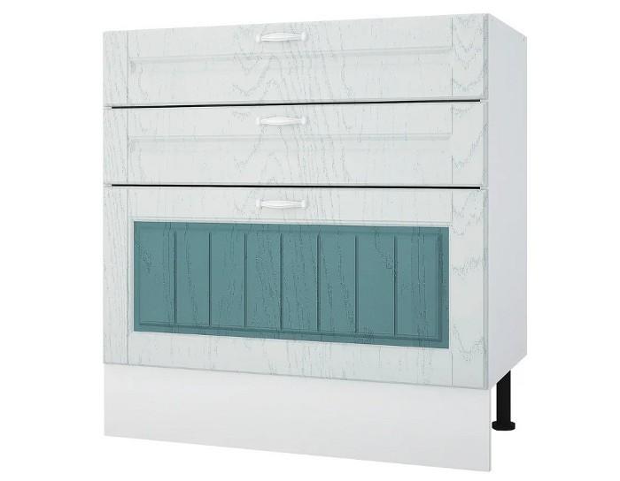 Кухонный шкаф 80 Камелия с 3 ящиками без столешницы