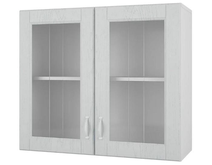 Кухонный шкаф витрина 80 Камелия