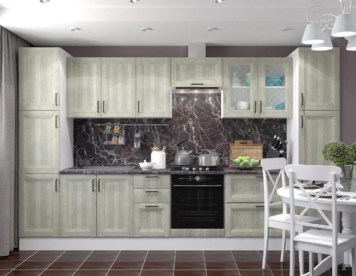Кухонный гарнитур Винтаж дуб седой