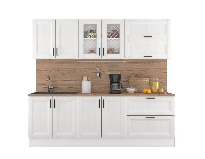 Кухонный гарнитур Винтаж сосна белая