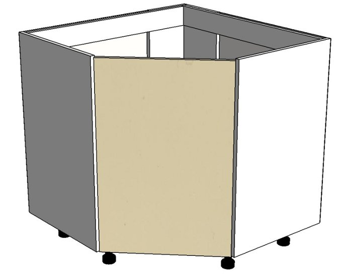 Кухонный шкаф Фиджи Лайт DU90/90 угловой