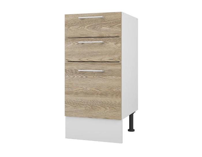 Кухонный шкаф 40 Полонез с 3 ящиками без столешницы
