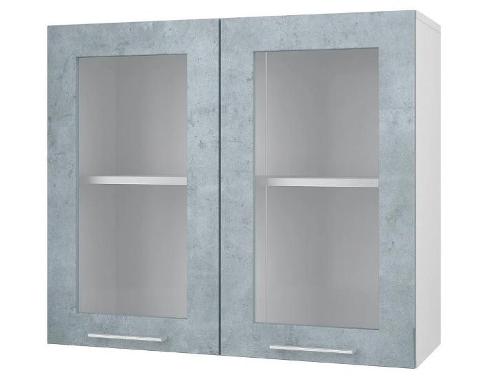 Кухонный шкаф витрина 80 Лофт