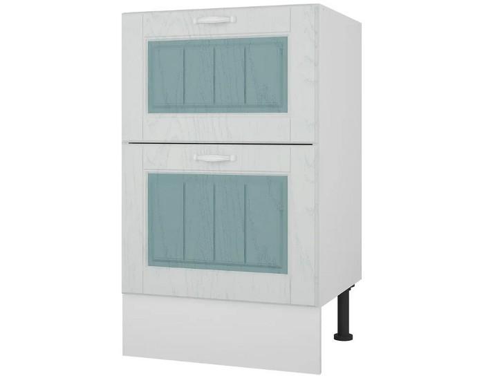Кухонный шкаф 50 с 2 ящиками Камелия без столешницы
