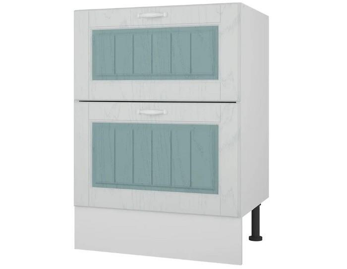 Кухонный шкаф 60 с 2 ящиками Камелия без столешницы