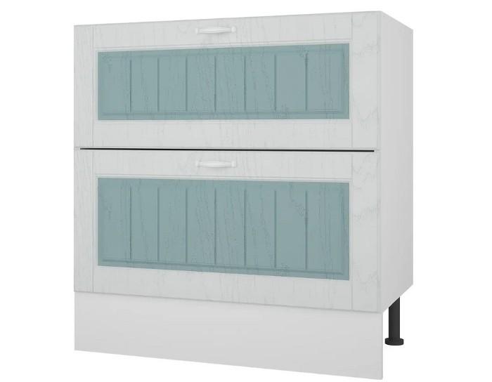 Кухонный шкаф 80 с 2 ящиками Камелия без столешницы