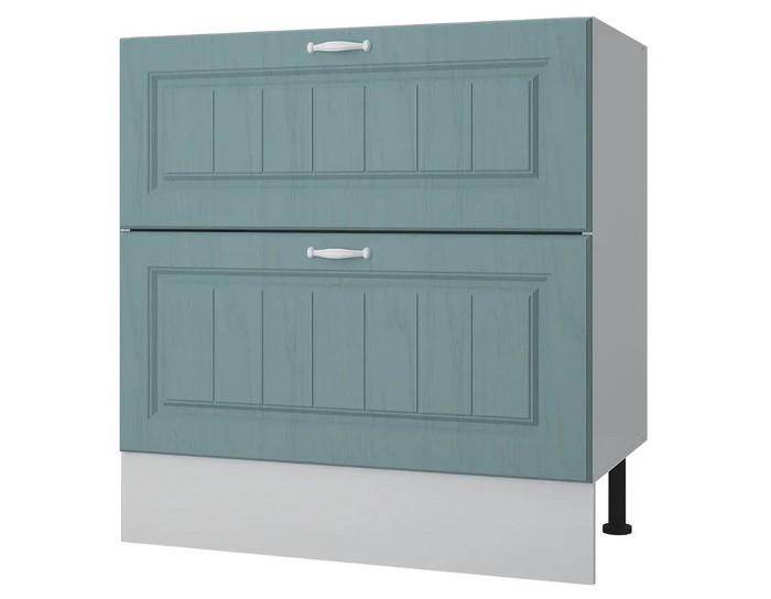 Кухонный шкаф 80 с 2 ящиками Принцесса без столешницы