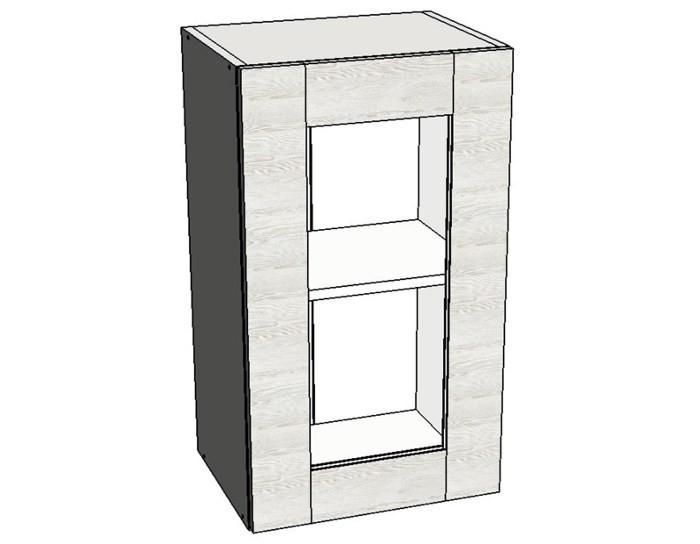 Кухонный шкаф Фиеста AS40 со стеклом