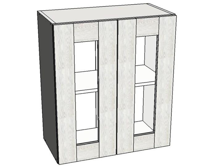Кухонный шкаф Фиеста AS60 со стеклом