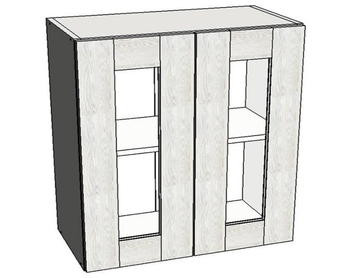 Кухонный шкаф Фиеста AS80 со стеклом