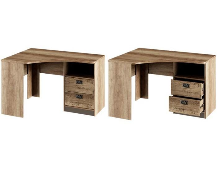 Стол угловой с ящиками Пилигрим ТД-276.15.03